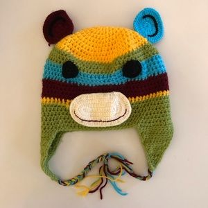 Other - Monkey knitted winter hat
